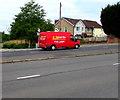 ST3090 : AJM red van, Malpas Road, Newport by Jaggery