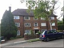 TQ2688 : Crosby Court on Greenhalgh Walk, Hampstead Garden Suburb by David Howard