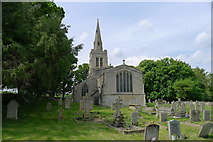 SP9599 : Church of St John the Baptist, Wakerley by Tim Heaton