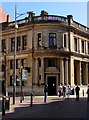 ST3088 : Queue outside NatWest Cymru, Newport city centre by Jaggery