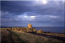 NT4999 : Lady's Tower, Sauchar Point, Elie by Colin Park