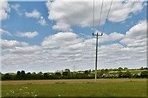 TM2768 : Brundish: Power lines by Michael Garlick