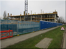 TL4661 : New building at Cambridge Science Park by Hugh Venables