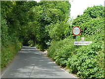 TR2647 : Entering Shepherdswell on Coldred Road by Robin Webster