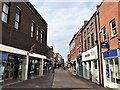 TF6120 : A deserted High Street in King's Lynn - 2 by Richard Humphrey