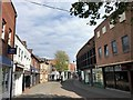 TF6120 : A deserted New Conduit Street in King's Lynn by Richard Humphrey
