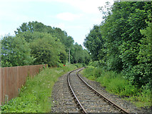 TR2849 : East Kent Railway, Eythorne by Robin Webster