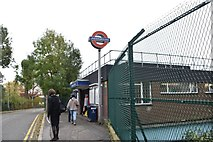 TQ0885 : Ickenham Station by N Chadwick