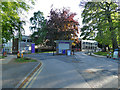 SE2736 : Entrance to the Headingley campus of Leeds Beckett University by Stephen Craven