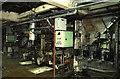 TQ2677 : Lots Road Power Station - boiler firing aisle by Chris Allen