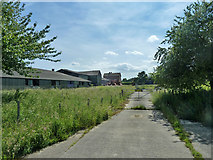 TR2955 : Fuel entry, former Hammill brickworks by Robin Webster