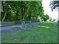 SE2539 : Old gateposts, Hospital Lane, Cookridge by Stephen Craven