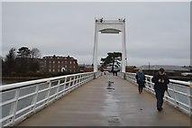 SU6100 : Gosport Millennium Footbridge by N Chadwick