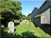TR3451 : Churchyard, Great Mongeham by Robin Webster