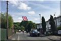 SP2965 : VE Day acknowledged, Mercia Way, Warwick by Robin Stott