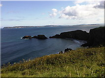 D0644 : Carrick-a-rede and Rathlin Island by Martyn Pattison