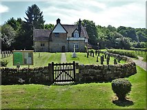 SK4338 : All Saints Church, Dale Abbey by Neil Theasby