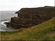 C9444 : View East across Portnaboe on the Causeway coast by Martyn Pattison