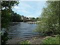 SE3825 : River Calder below Penbank weir by Christine Johnstone