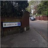 SZ0895 : Redhill: Georgian Way by Chris Downer