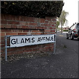 SZ0896 : Northbourne: Glamis Avenue by Chris Downer