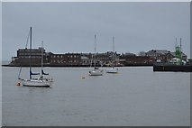 SZ6299 : At anchor, Portsmouth Harbour by N Chadwick
