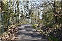 TQ6042 : To Knights Park by N Chadwick
