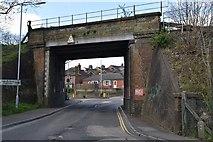 TQ5941 : Railway Bridge, Sandhurst Road by N Chadwick