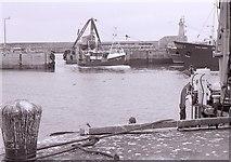 NK0066 : Fishing boat entering harbour, Fraserburgh by Richard Sutcliffe