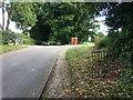 TQ1850 : Coach Road to Brockham by Hugh Craddock