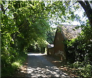 SK4023 : Keepers Cottage along Squirrel Lane by Mat Fascione