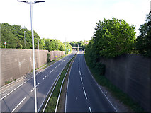 SE2334 : The Stanningley bypass east of Swinnow Road by Stephen Craven