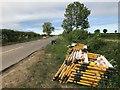 SK4868 : Temporary traffic lights by David Lally