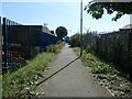 SE3320 : Smithson's Tramroad, east of the L & Y railway, Wakefield by Christine Johnstone