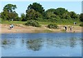 SK6843 : Enjoying the sunshine by the River Trent by Alan Murray-Rust