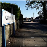 SZ0795 : Ensbury Park: Green Lane by Chris Downer