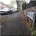 SZ0895 : Moordown: Grenfell Road by Chris Downer