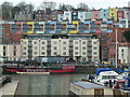 ST5772 : Grain Barge across the Floating Harbour, Bristol by Chris Allen