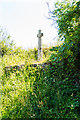 SW9448 : Nancor Cross Monument by Mike Lyne