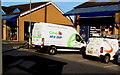 ST3090 : Cefndy Medequip van, Malpas, Newport by Jaggery