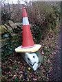 SH6067 : Conehead on Lôn Hafoty, Tregarth by Meirion