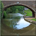SK1410 : King's Orchard Bridge near Streethay in Staffordshire by Roger  Kidd