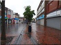 SO9496 : Rainy Bilston by Gordon Griffiths