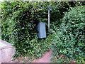ST3090 : Royal Mail drop box at the western edge of Graig Wood, Newport by Jaggery