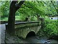 SE3136 : Bridge over the Gledhow Beck by Stephen Craven