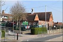 TQ5841 : St Matthew's Primary School by N Chadwick