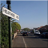 SZ0795 : Ensbury Park: Heather Road by Chris Downer