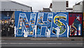 J3274 : NHS mural, Belfast by Rossographer