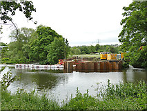 SE2635 : Construction of Kirkstall fish pass (4) by Stephen Craven