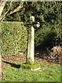 NZ0990 : Old Wayside Cross by Mike Rayner
